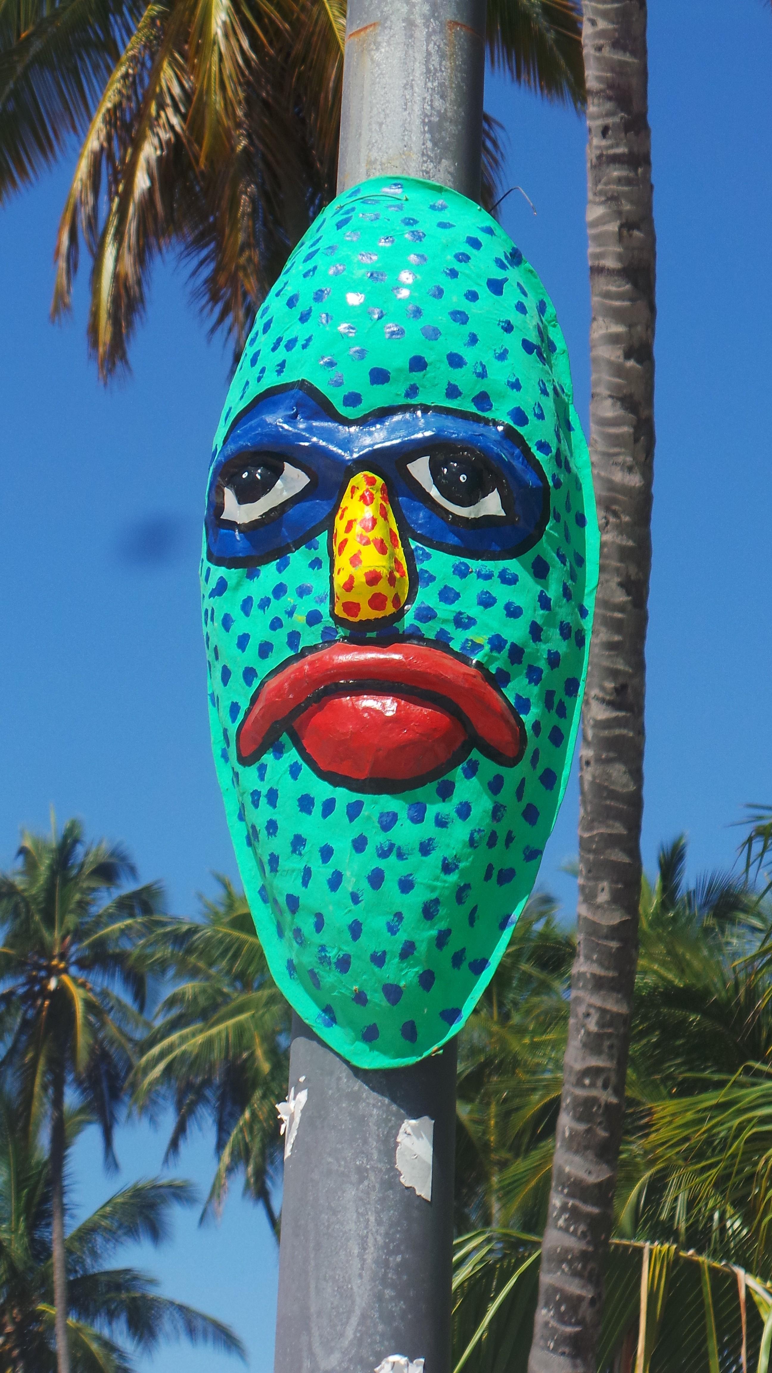 Les masques du Carnaval - Jacmel