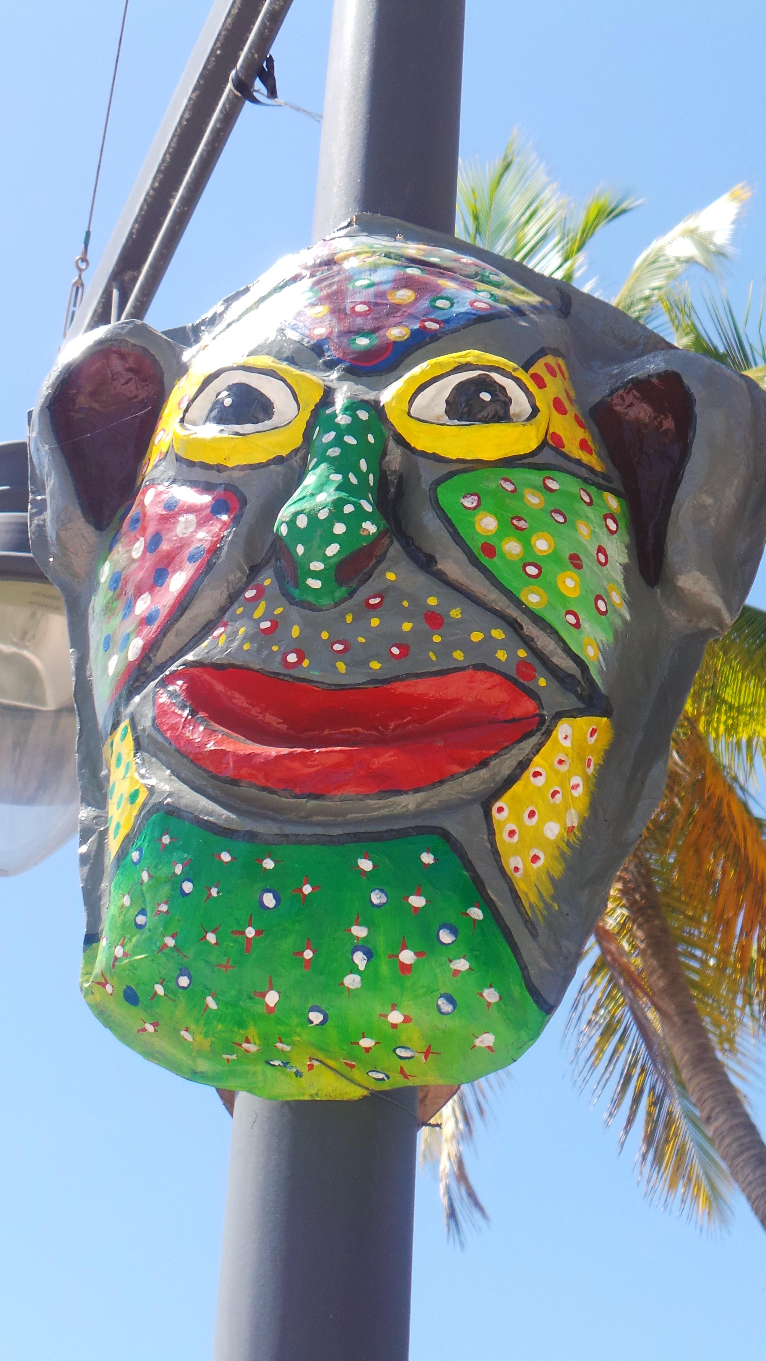 Les masquesdu Carnaval - Jacmel